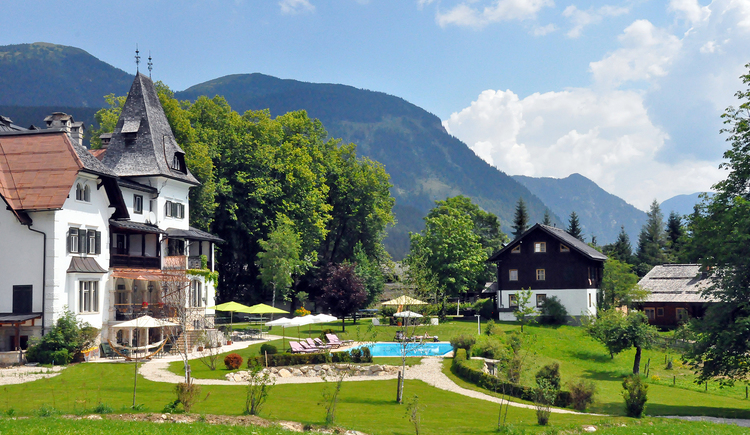 the Hotel Koller during summer. (© Landhaus Koller)