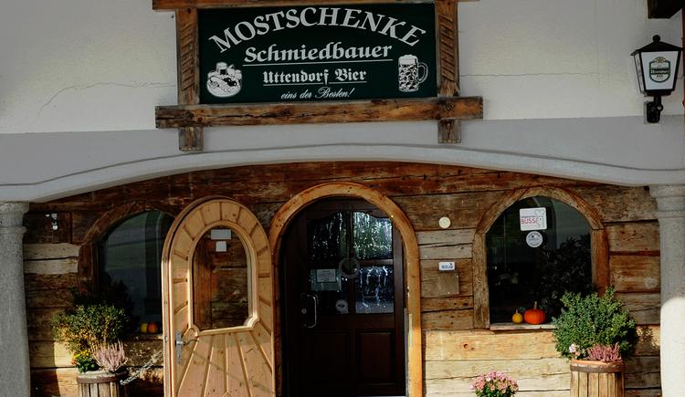 Mostschenke Schmiedbauer, Höhnhart. (© innviertel tourismus/hirnschrodt)