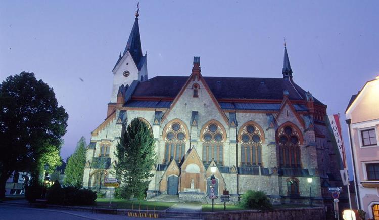 Pfarrkirche Aigen-Schlägl (© Günter Standl)