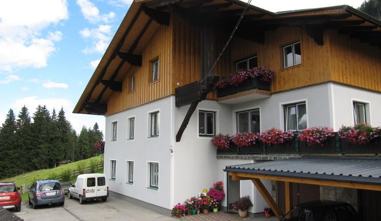 Haus Mösenbichler, Vorderstoder: Vorderansicht