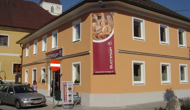 B\u00e4chkerei-Cafe Buchegger (© Marktgemeinde Raab)