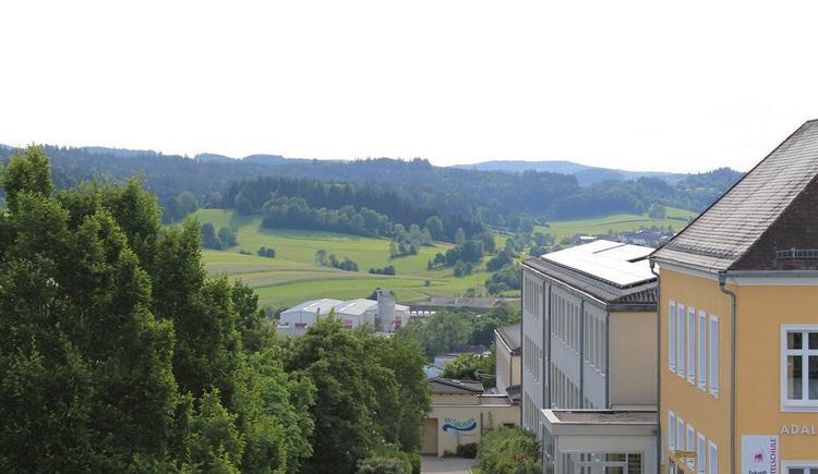 Nähe Hallenbad (© Privat)