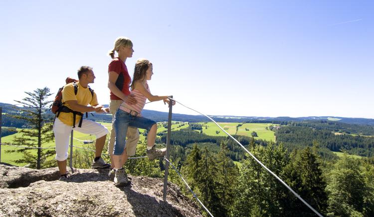 Wandern im Mühlviertel traumhafte Aussicht. (© ©OÖ.Tourismus/Erber)