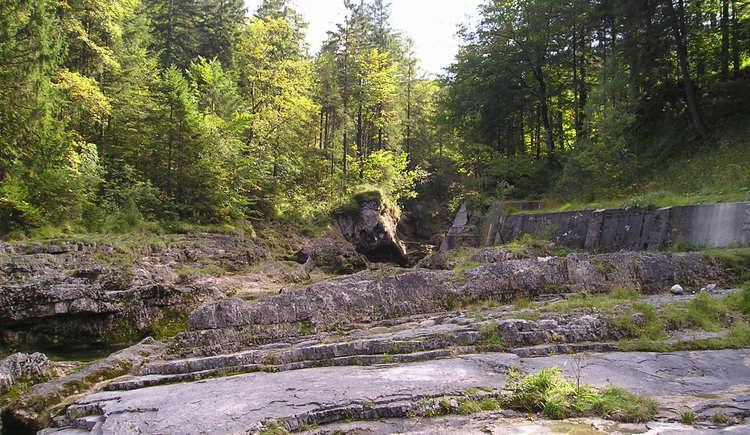 Naturdenkmal - Felsenbad in Faistenau (© Tourismusverband Faistenau)