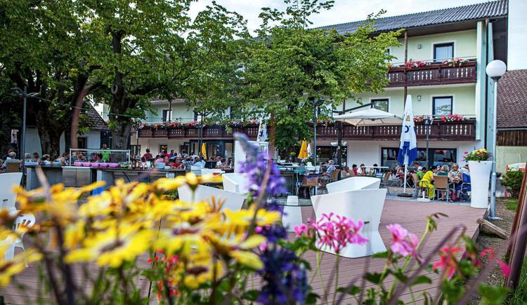Gastgarten (© Gasthof-Pension Altmühl)