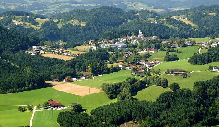Ortsansicht St. Georgen am Walde Sommer (© Raffetseder Josef)