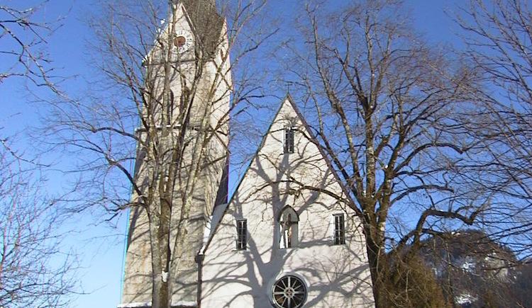Die katolische Kirche in Gosau. (© Ferienregion Dachstein Salzkammergut)