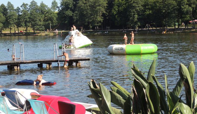 Sommer am Holzöstersee in Franking. (© TV-Franking)