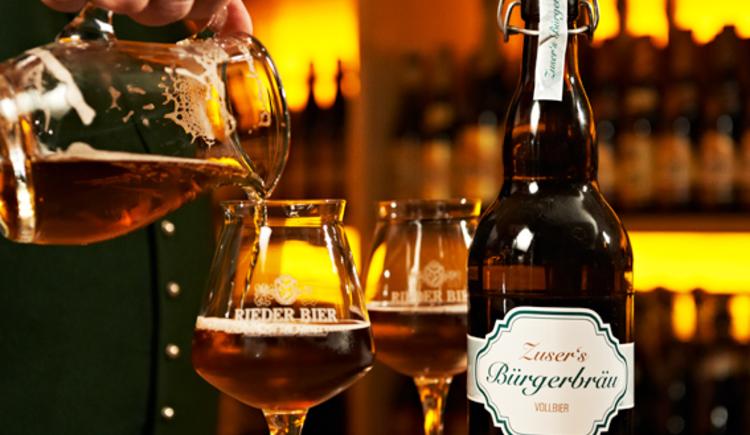 Hauseigenes Bier, Gasthof Riedberg