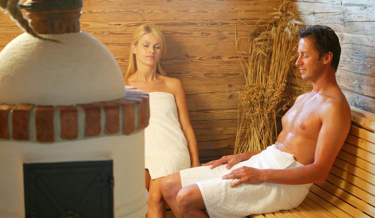 """Hotel Lebensquell Bad Zell: \""""Troadkasten-Sauna\"""" in der Saunaoase"""