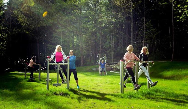 Fitnessparcours-Vortuna Gruppe (© Vortuna Gesundheitsresort Bad Leonfelden)