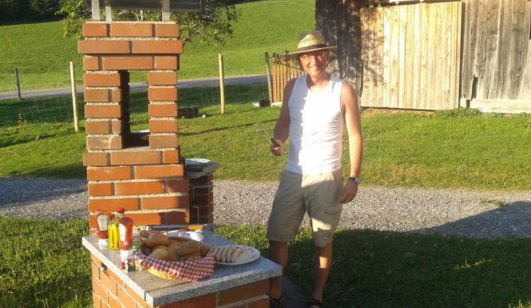Griller, Garten,