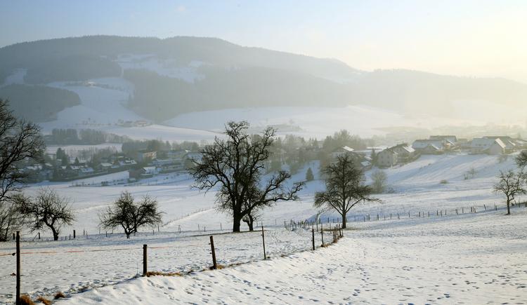 Winterlandschaft St. Oswald (© Tourismuskern St. Oswald)