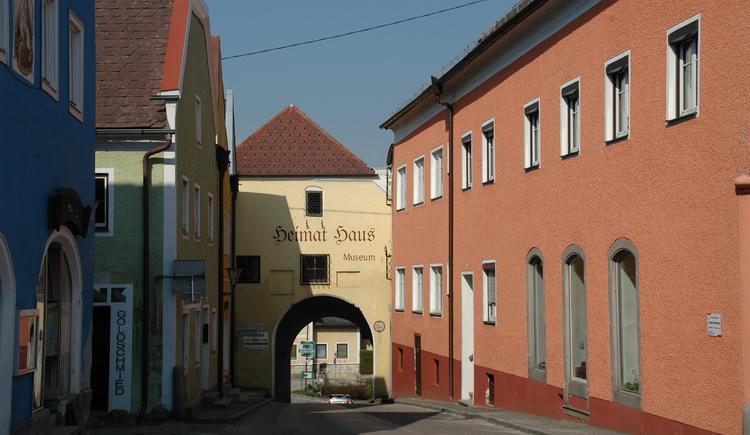 Heimathaus Obernberg. (© Gemeinde Obernberg)