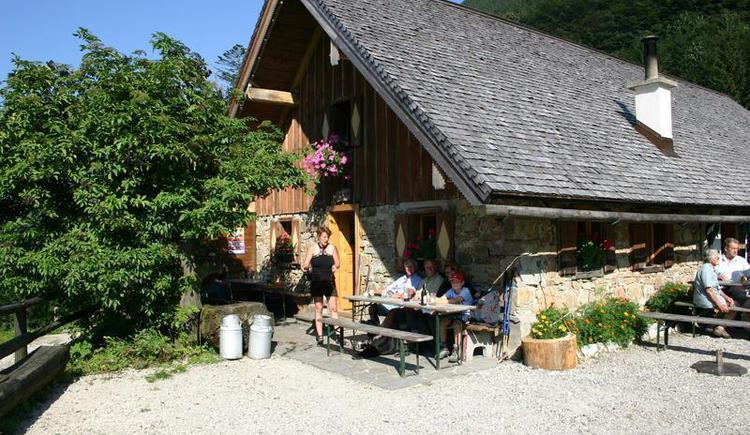 Hut `Grögernalm` in Faistenau (© Grögernalm Faistenau)
