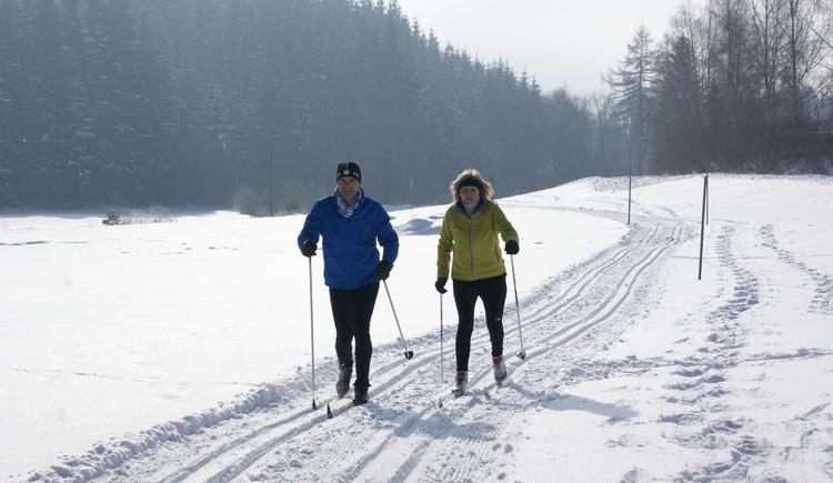 Langlaufen in Unterweißenbach (© Mühlviertler Alm)
