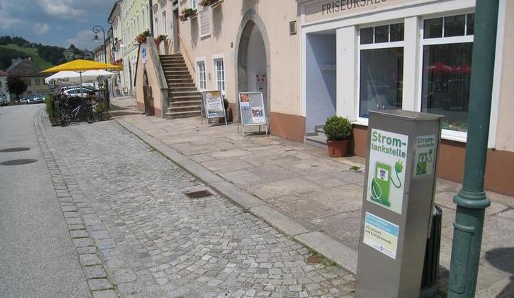 E-Tankstelle Haslach an der Mühl (© Ferienregion Böhmerwald)