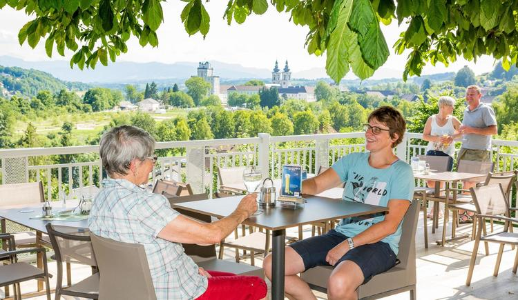 Ausblick Gasthaus Kremstalblick (© Gerhard Schmadlbauer)