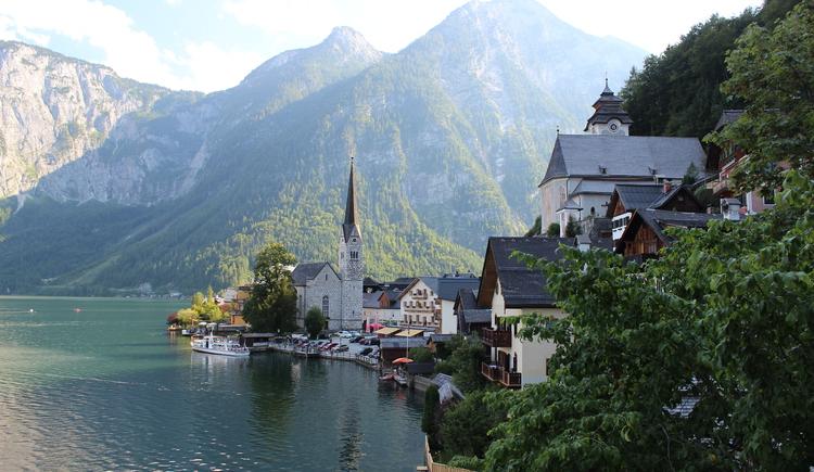 Hallstatt typische Ansicht. (© Ferienregion Dachstein Salzkammergut)