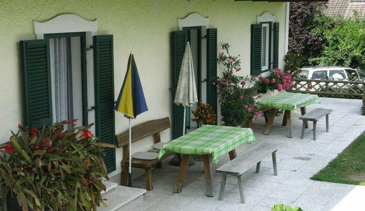 Haus am Wald Terrasse