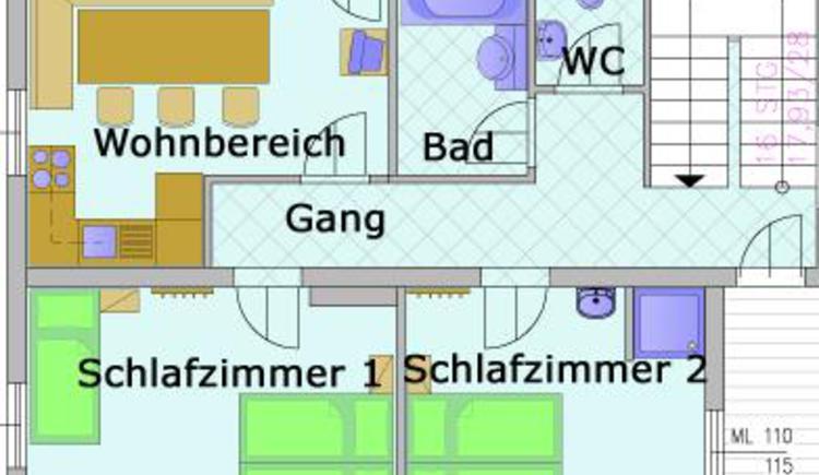 Plan Wohnung 1