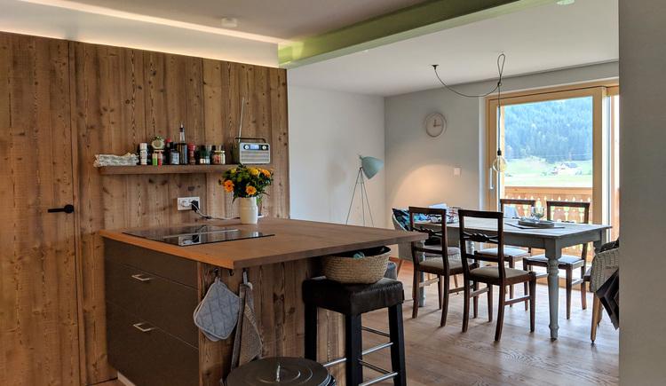 Wohnung Bergglück - Essbereiche (© dasGams)