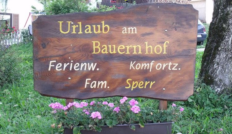 Urlaub am Bauernhof, Bauerhof Sperr, Nußdorf am Attersee (© Fam. Sperr)