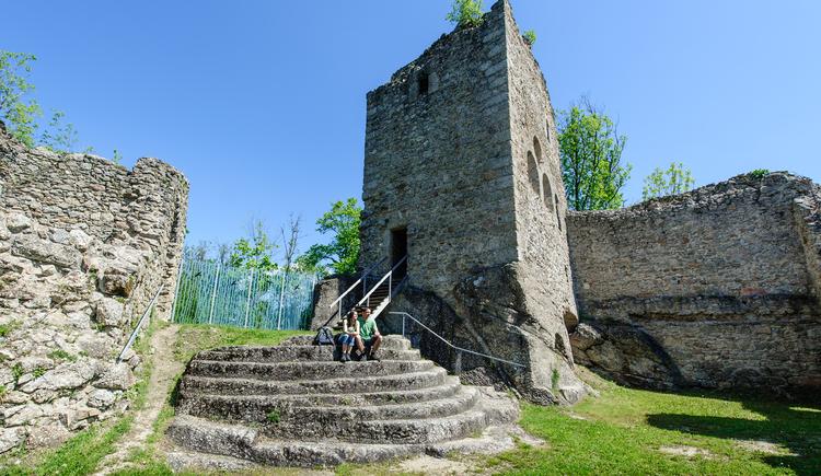 Ruine Ruttenstein Detail. (© Mühlviertler Alm_Hawlan)