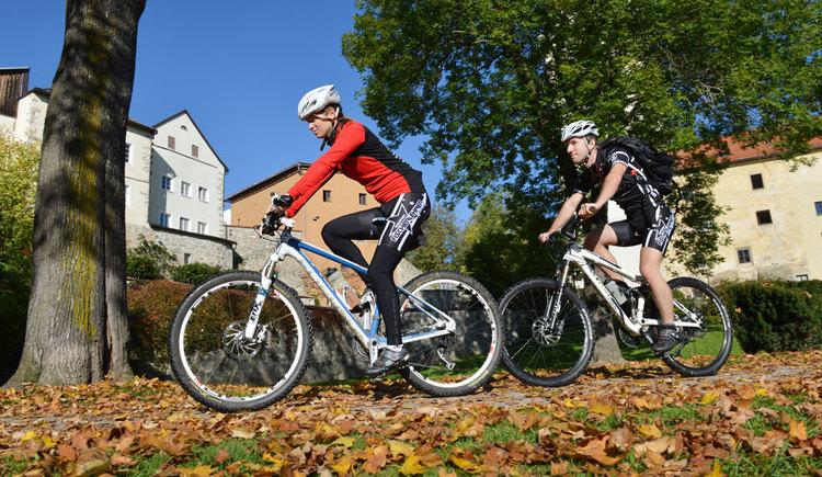 Radfahren in Freistadt - einfach E-Bike ausborgen (© OÖ Tourismus/Röbl)