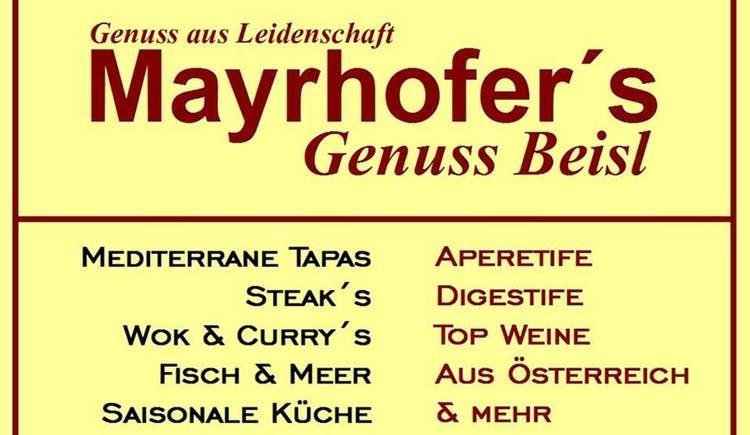 Mayrhofers Logo