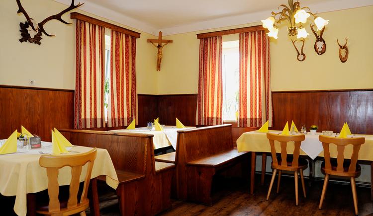 Gasthaus Café Zöpfl in Maria Schmolln - Gaststube