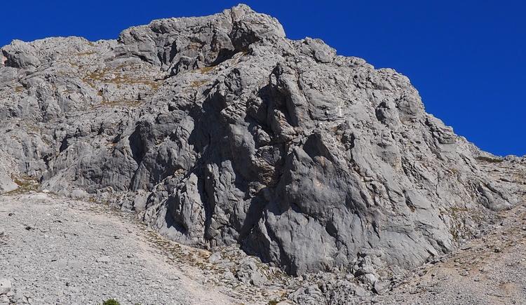 Gr. Priel Klettersteig Holger Friedl Manuela 10.10.2018 09-08-59 (© TVB Pyhrn-Priel/Kniewasser)