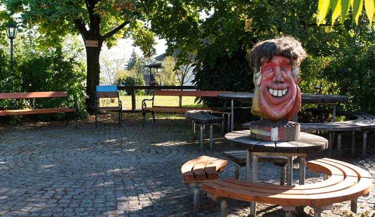 Roemerradweg Rastplatz Frankenmarkt