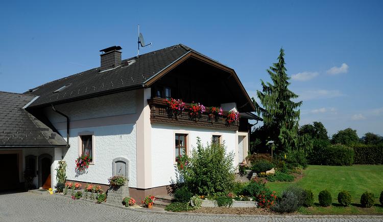 Schießl's Gästehof Außenansicht Eingang