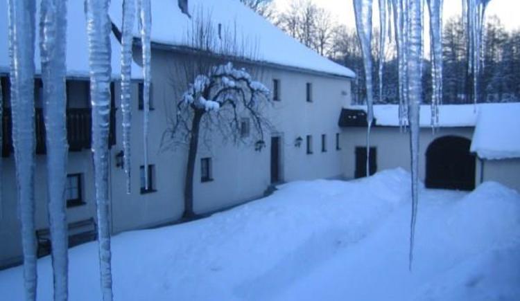 Winter, Jugendgästehaus der Naturfreunde OÖ