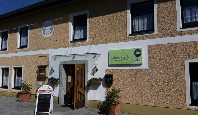 Kaltenbergerhof Eingang
