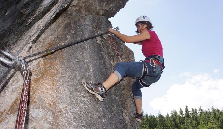 Klettersteigpark Bannholzmauer (© TVB Pyhrn-Priel/Steinmassl)