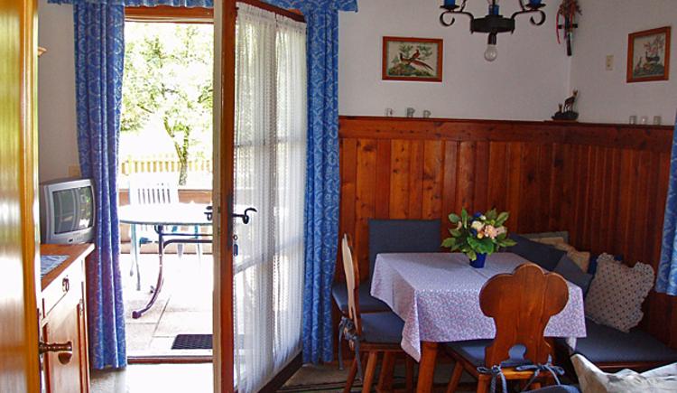 Gemütliche Stube im Knusperhaus in Strobl am Wolfgangsee