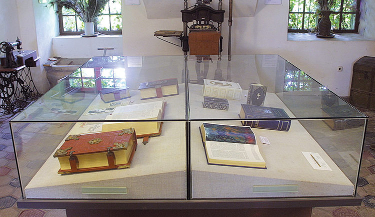 Gebetsbuchmuseum. (© Innviertel Tourismus)