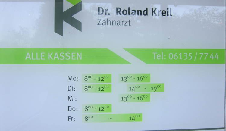 Zahnarzt Dr. Roland Kreil