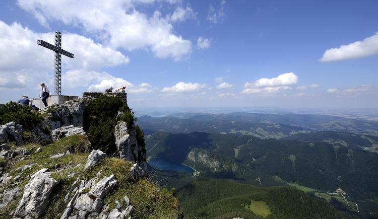 Aussichtskanzel Alberfeldkogel (© Ferienregion Traunsee)