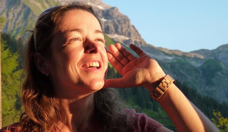 Sabina Haslinger - Jodeln (© Sabina Haslinger)
