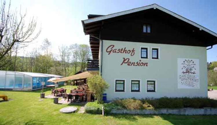 Gasthof Waldfriede im Attergau.