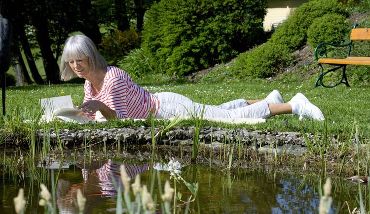 Petershofer - Entspannen im traumhaften Garten
