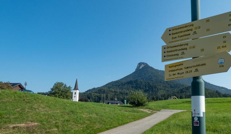 Fuschl am See - Start (© CA)