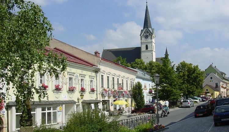 Königswiesen Marktplatz (© Marktgemeinde Königswiesen)