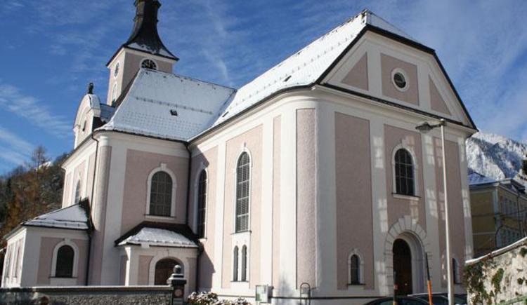 Pfarrkirche im Winter (© Tourismusbüro Ebensee, Spengler)