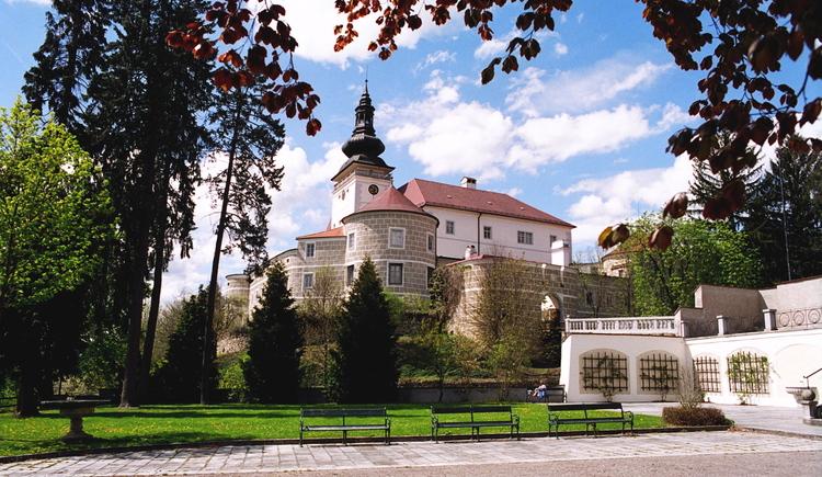 Schloss Weinberg, Schlosspark