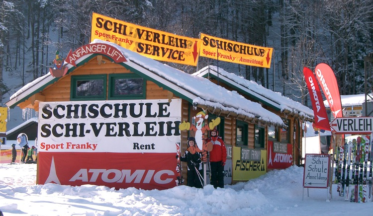 Ski school and ski rent Sport Franky (© Sport Franky - Hintersee)
