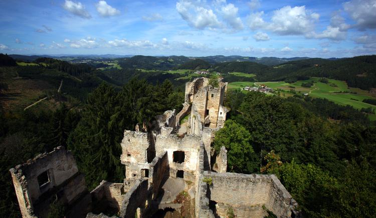 Burgruine Prandegg. (© oberoesterreichische nachrichten/volker weihbold)